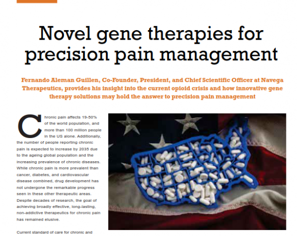 novel gene therapies for precision pain management
